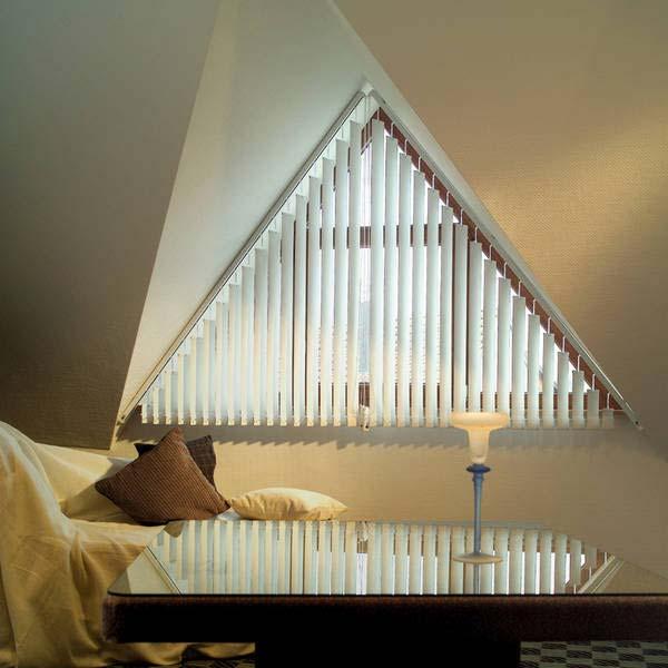Шторы на треугольные окна